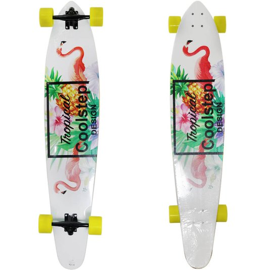 Longboard Tropical Coolstep Bege/Amarelo