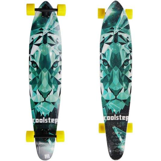 Longboard Tropical Coolstep Rubi Verde/Amarelo