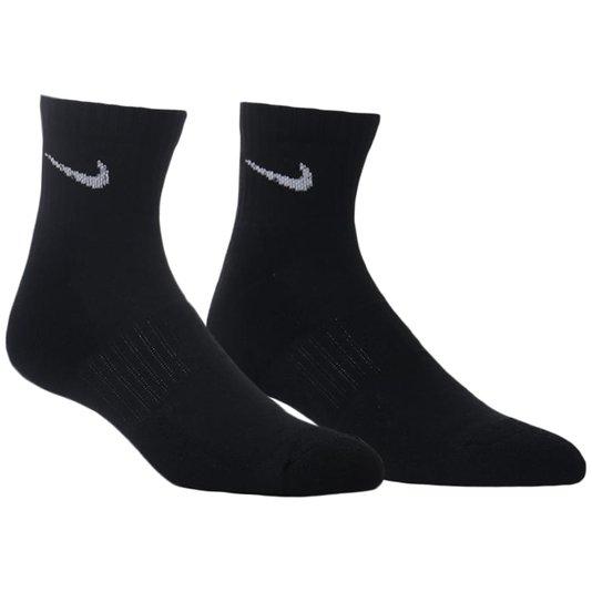 Meia Nike Everyday Cush Ankle 3pack Preto