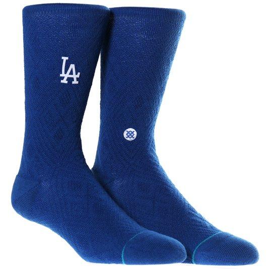 Meia Stance Los Angeles Dodgeres Diamond Azul