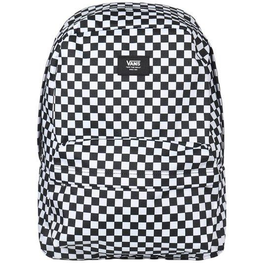 Mochila Vans Old Skool Iii B Checkerboard Preto/Branco
