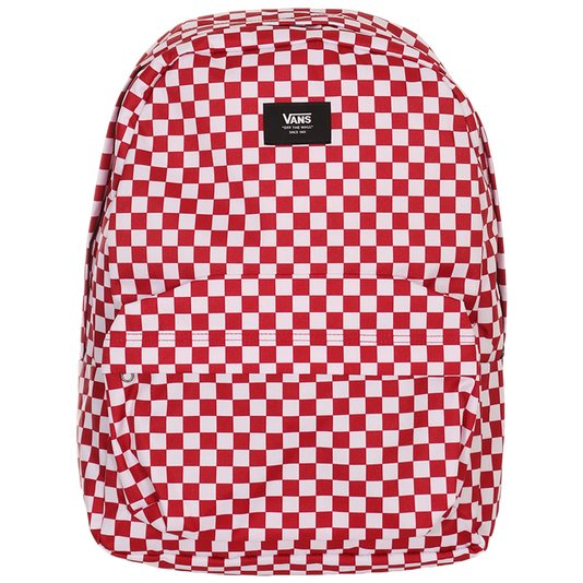 Mochila Vans Old Skool Iii B Chili Pepper Checkerboard Vermelho/Branco