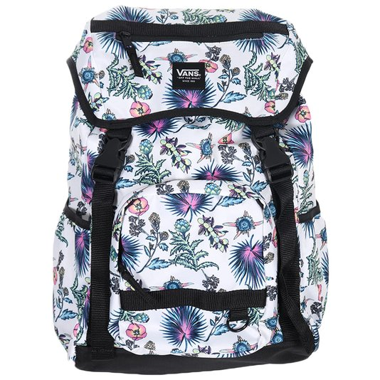 Mochila Vans Ranger Backpack Califas Marshma Floral/Branco