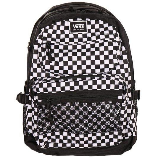 Mochila Vans Stasher Checkerboard Preto/Branco