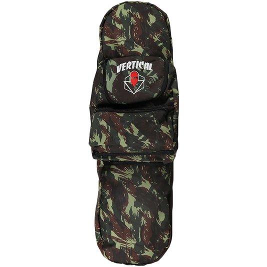 Mochila Vertical Skatebag Capa Camuflado