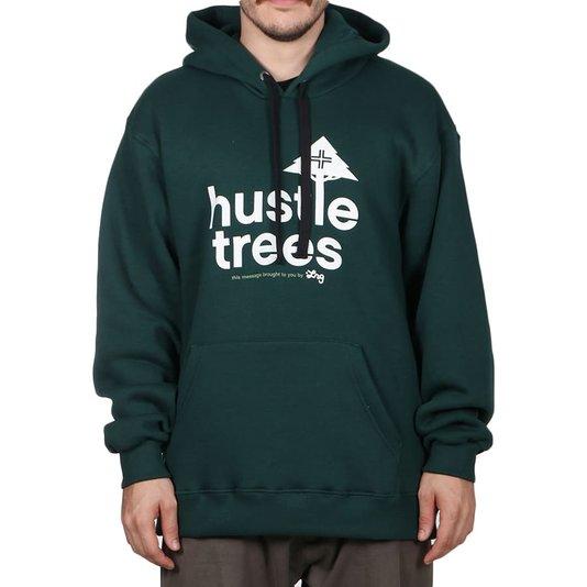 Moletom Lrg Canguru Hustle Verde