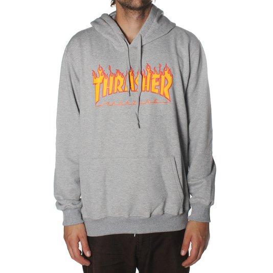 Moletom Thrasher Magazine Logo Flame Mescla