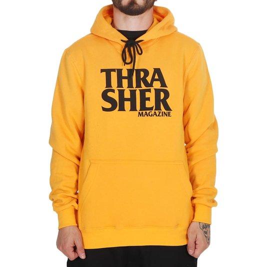 Moletom Thrasher Magazine Anti Logo Amarelo