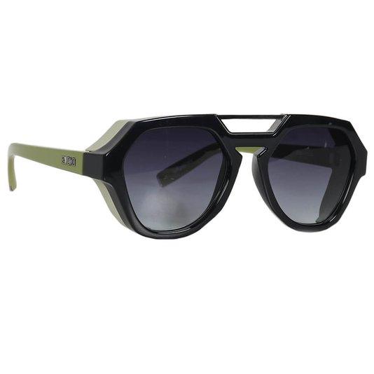 Óculos Evoke Avalanche A07 Total Preto/Verde