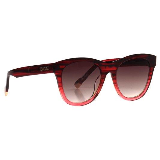 Óculos Evoke On The Rocks Ix Bl H01 Rose Gold Vermelho
