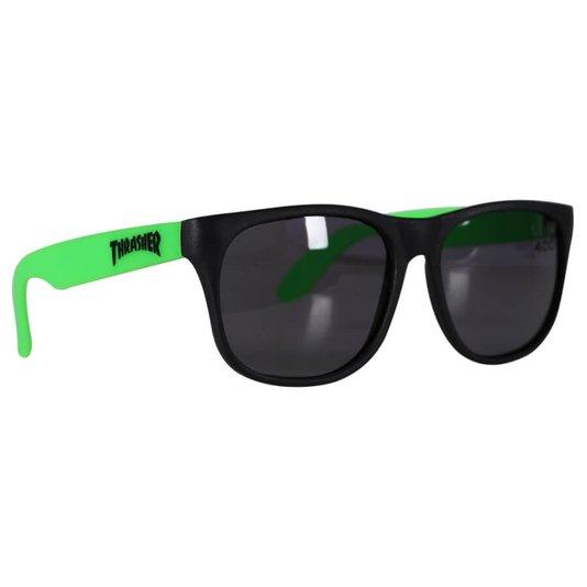Óculos Thrasher Skate Magazine Preto/Verde