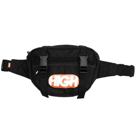 Pochete High Company Waist Bag Capsule Preto/Laranja