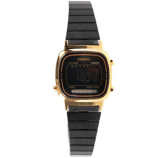 Relógio Casio LA670WEGB-1BDF Preto