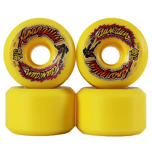 Roda Anarquia Dum-Dum 97a Amarelo