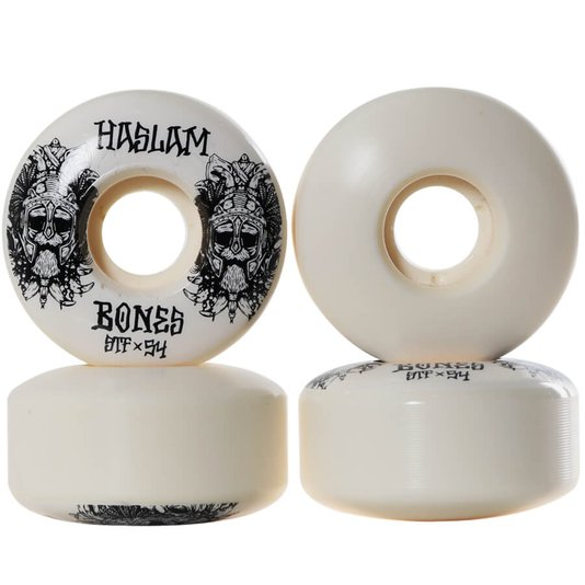 Roda Bones Chris Haslam Ragnar STF 83B 103A V3 Preto/Branco