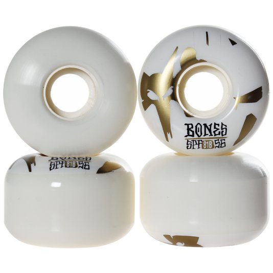 Roda Bones Reflection 81B P2 Branco