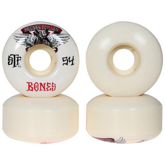 Roda Bones Rodney Mullen Winged Mutt 83b V1 Branco
