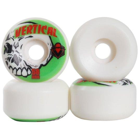 Roda Fomo Vertical Branco/Verde
