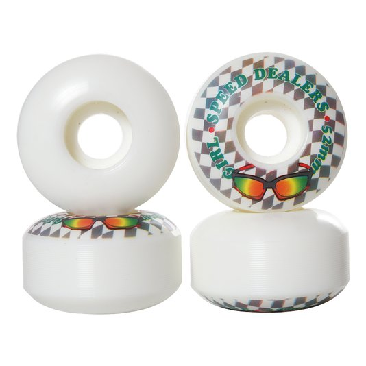 Roda Girl Speed Dealears Branco/Cinza