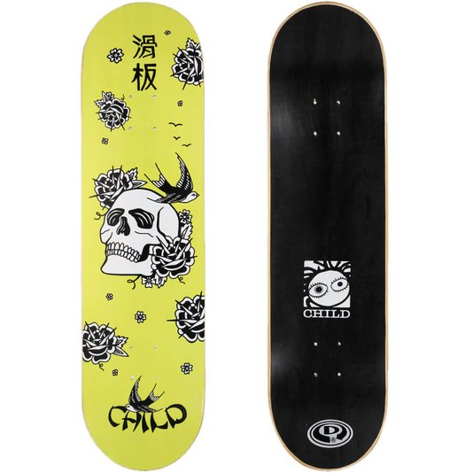 Shape Child Marfim Japan Skull 8.25 Amarelo