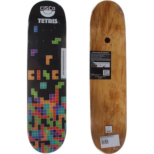 Shape Cisco FN+R Brasão Tetris 7.67 Preto/Colorido