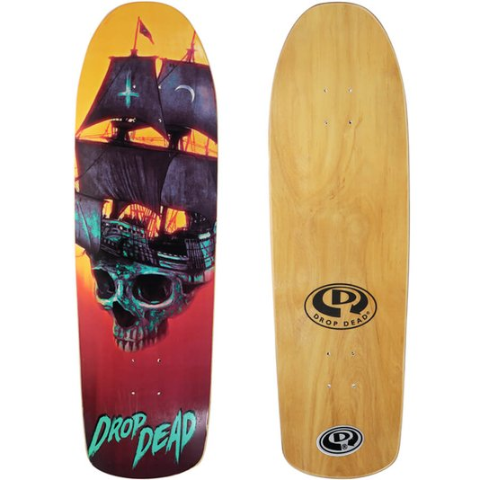 Shape DropDead NK2 Old School Pirate 9.16 x 30.55 Vermelho