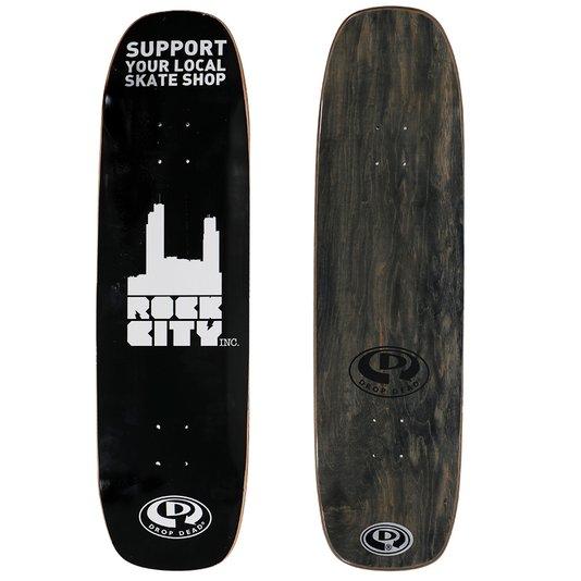 Shape Rock City x DropDead Old School Maple 8.8 Preto/Branco