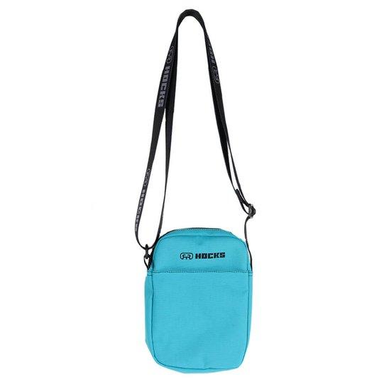 Shoulder Bag Hocks Volta Azul Piscina