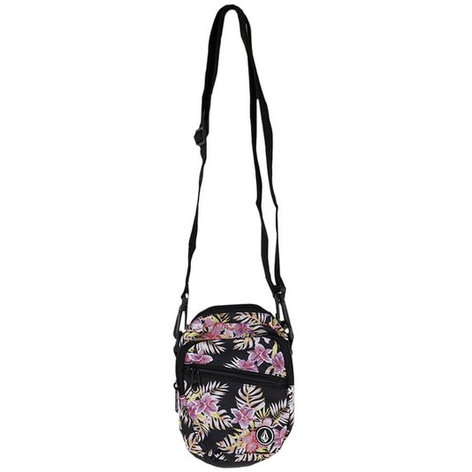 Shoulder Bag Volcom Forget Yoself Preto/Floral