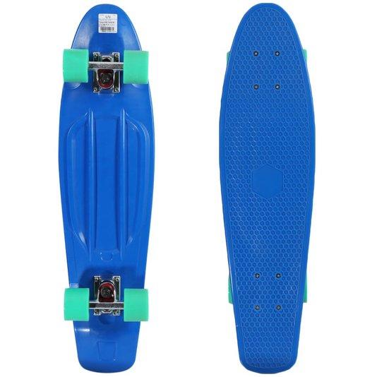 Skate Montado Hondar Penny Cruiser Mini-Long Azul/Verde