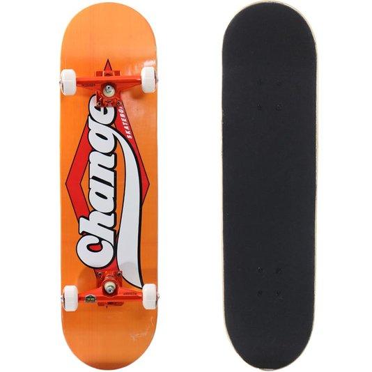 Skate Montado Orange Laranja