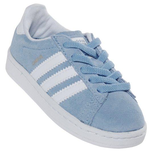 Tênis Adidas Campus El Infantil Azul