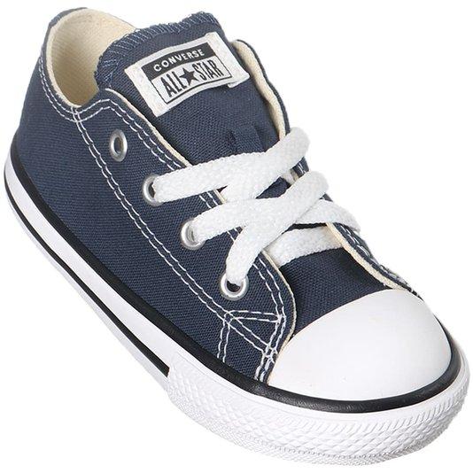 Tênis Converse Chuck Taylor All Star Infantil Azul Marinho/Preto/Branco