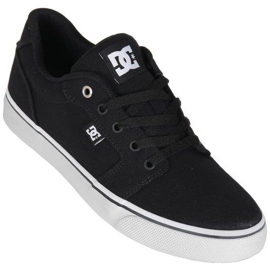 Tenis Dc Shoes Anvil Tx La Preto/Branco
