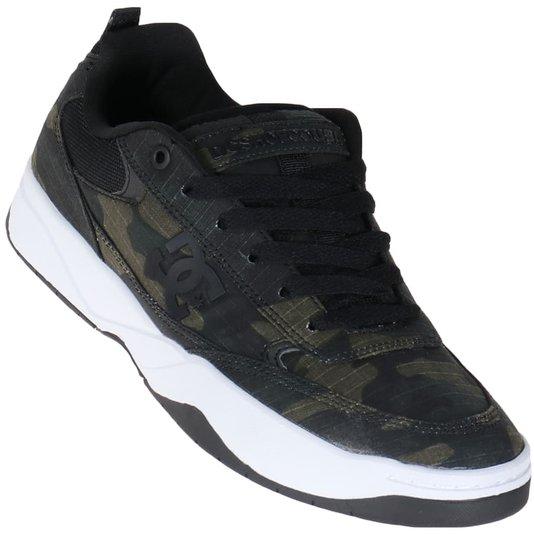 Tenis Dc Shoes Penza Tx Se Camuflado/Branco/Preto