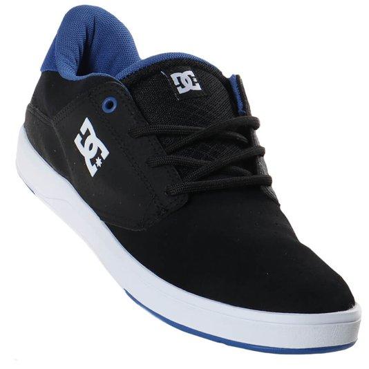 Tênis Dc Shoes Plaza Tc Preto/Branco/Azul