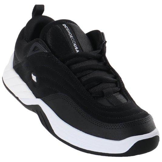 Tênis Dc Shoes Williams Slim Preto/Branco