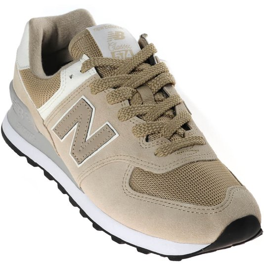 Tênis New Balance Classic 574 Bege