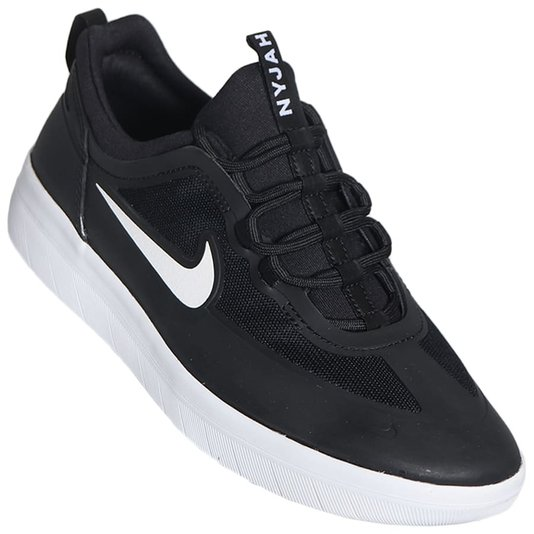 Tênis Nike Nyjah Free 2 Preto/Branco
