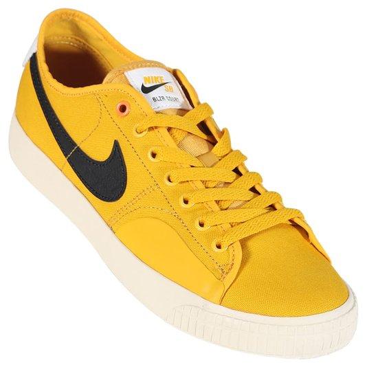 Tênis Nike Sb Blzr Court Dvdl Amarelo/Preto/Branco