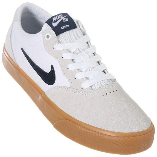 Tênis Nike Sb Chron Slr Off White/Gum