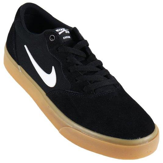 Tênis Nike Sb Chron Slr Preto/Natural