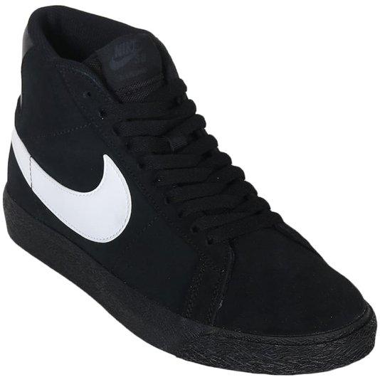 Tênis Nike Sb Zoom Blazer Mid Preto/Branco