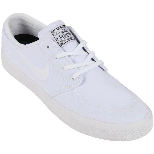 Tênis Nike Sb Zoom Stefan Janoski Canvas Branco