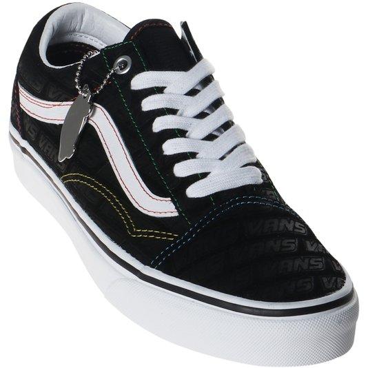 Tênis Vans Old Skool Emboss Preto/Branco