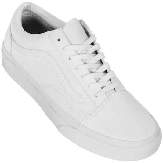 Tênis Vans Old Skool Ua Classic Tumble Branco