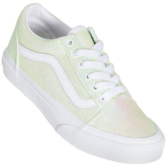 Tenis Vans Old Skool Uv Glitter Rosa/Furtacor Juvenil