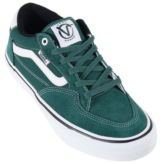 Tênis Vans Rowan Pro Verde/Branco