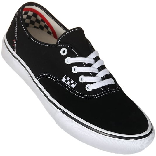 Tênis Vans Skate Authentic Preto/Branco