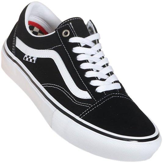 Tênis Vans Skate Old Skool Preto/Branco